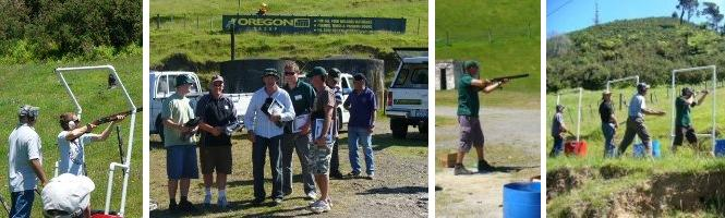Clay shooting day with Oregon ITM